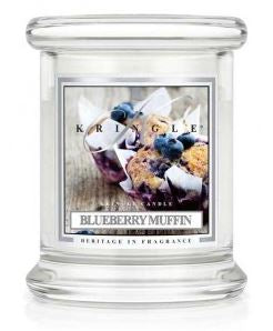 4.5 oz Small Classic Jar Candle: Blueberry Muffin