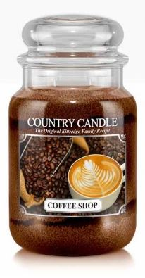 23oz Country Classics Large Jar Kringle Candle: Coffee Shop
