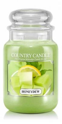 23oz Country Classics Large Jar Kringle Candle: Honeydew