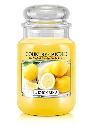 23oz Country Classics Large Jar Kringle Candle: Lemon Rind