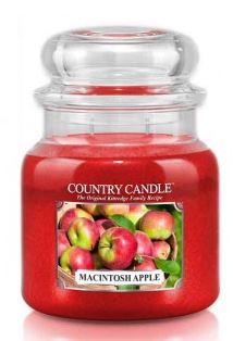 16oz Country Classics Medium Jar Kringle Candle: Macintosh Apple