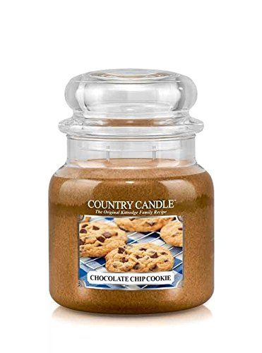 16oz Country Classics Medium Jar Kringle Candle: Chocolate Chip Cookie