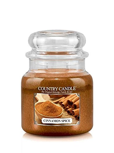 16oz Country Classics Medium Jar Kringle Candle: Cinnamon Spice