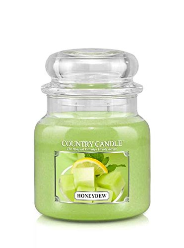 16oz Country Classics Medium Jar Kringle Candle: Honeydew