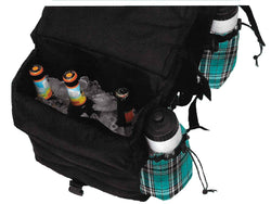 Kensington Insulated Western Saddle Bag w/bottles - Freedom Day Sales