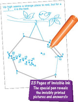 Count to 25 with Rhyming Riddles Farm Invisible Ink Book inside