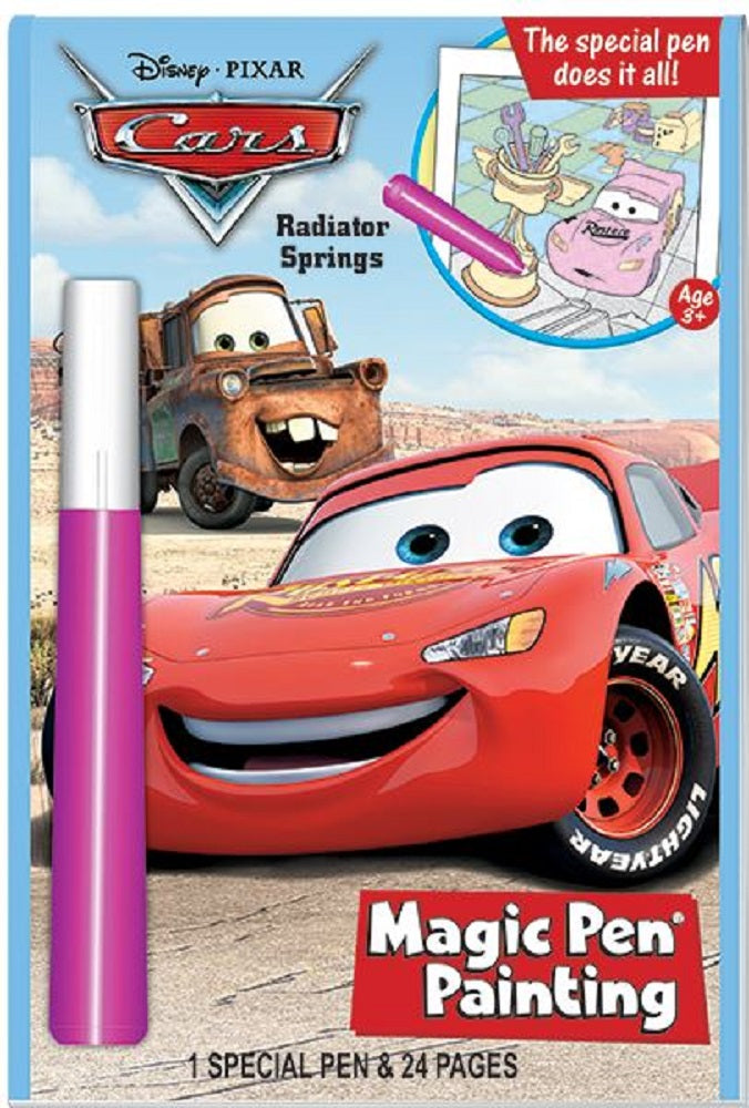 Disney Cars Radiator Springs Activity Book