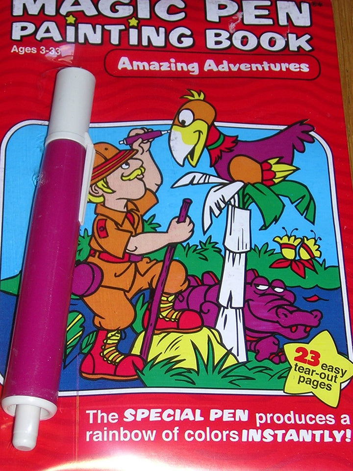 Magic Pen Painting Activity Book-Amazing Adventures
