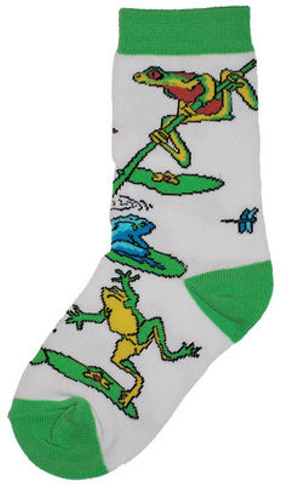 Frog Mix Adult Socks- X-Large