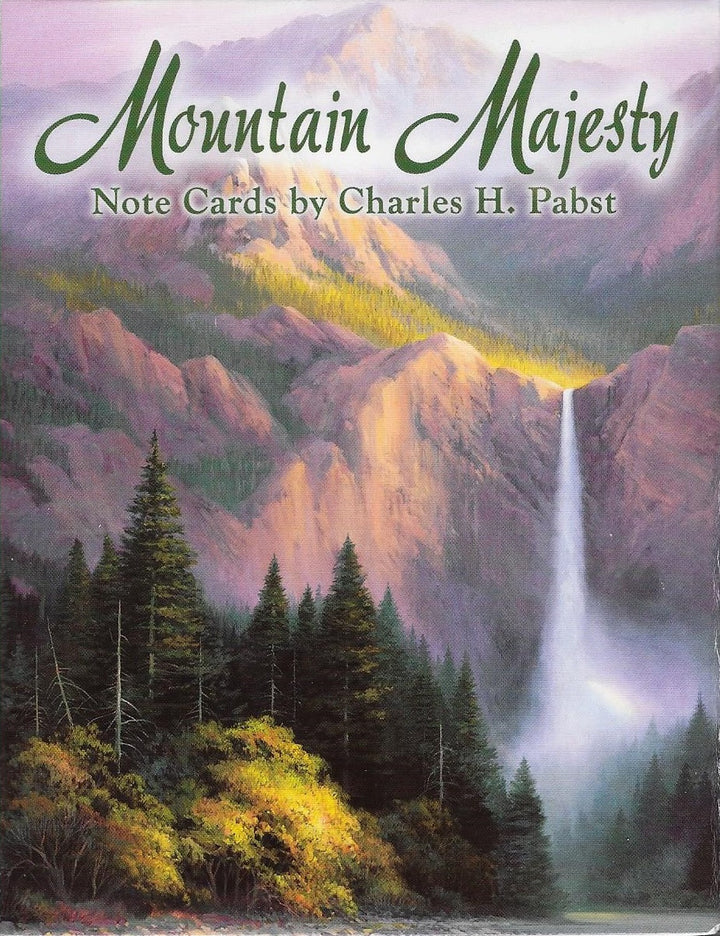 Mountain Majesty Notecards by Charles H Pabst