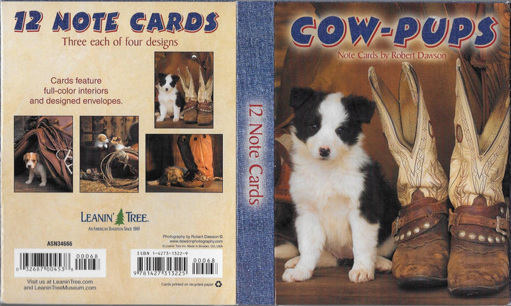 Cow Pups Notecards by Robert Dawson