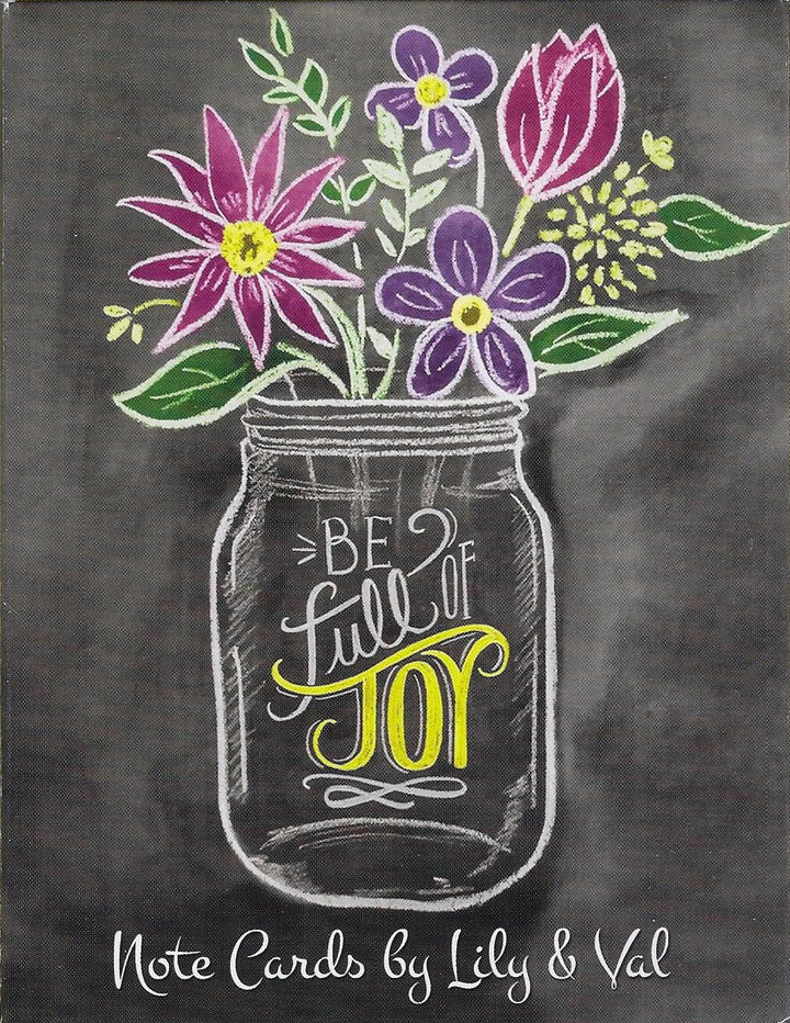 Be Full of Joy Notecards by Lily & Val