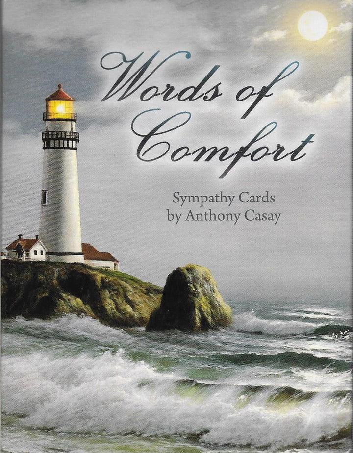 Words of Comfort Sympathy Cards by Anthony Casay