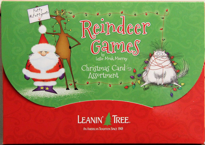 Reindeer Games Christmas Card Assortment