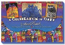 Leanin Tree A Celebration of Cats Greeting Cards Assortment #90730