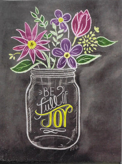Be Full of Joy 8 Notecards and Envelopes