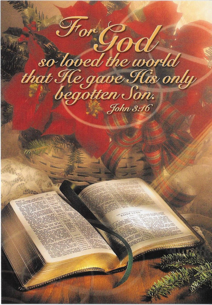 For God so Loved the World Christmas Cards and envelopes