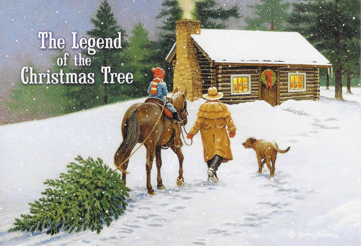 The Legend of the Christmas Tree Boxed Christmas Cards #73745