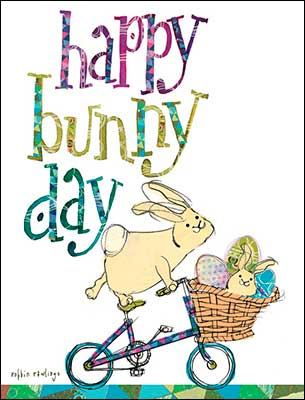 Happy Bunny Day Packaged Easter Cards