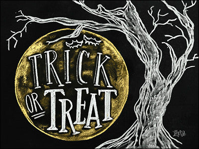 Trick or Treat Halloween Greeting card
