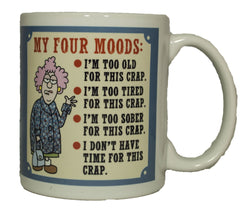 Auntie Acid My Four Moods Ceramic Gift Mug
