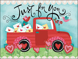 Just for You Valentine's Day Card Set-Front