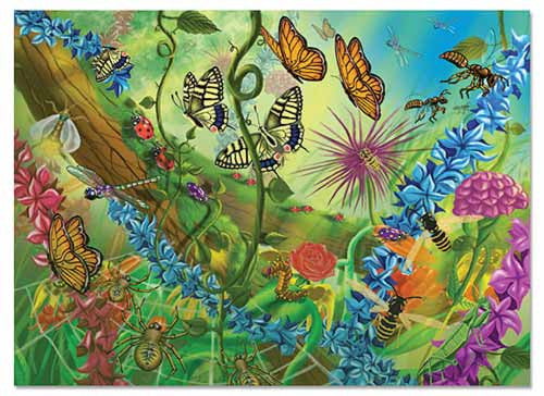 60 pc World of Bugs Jigsaw Puzzle