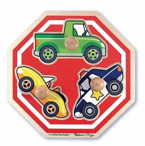 Melissa & Doug Stop Sign Jumbo Know Puzzle