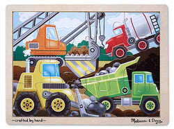 12 pc Construction Site Jigsaw Puzzle