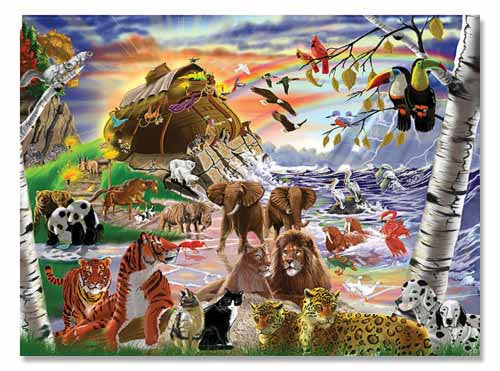 500 pc After the Flood Jigsaw Puzzle