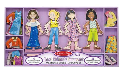 Melissa & Doug Best Friends Forever Magnetic Dress Up