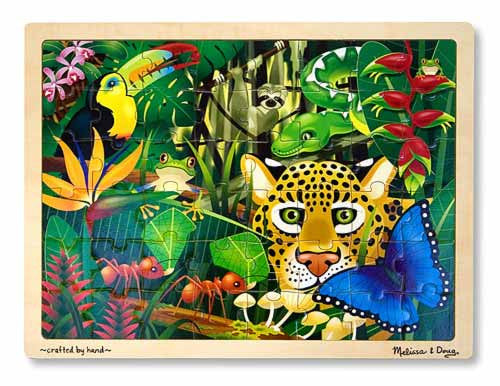 Melissa & Doug Rainforest Jigsaw Puzzle (48 pc)