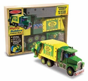 Melissa & Doug Mighty Builders- Garbage Truck