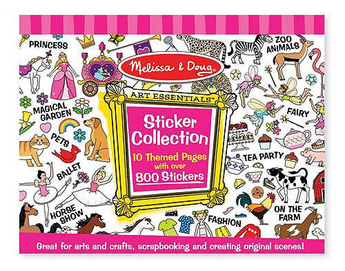 Sticker Collection- Pink