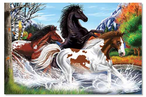 Melissa & Doug Horses 48pc Floor Puzzle