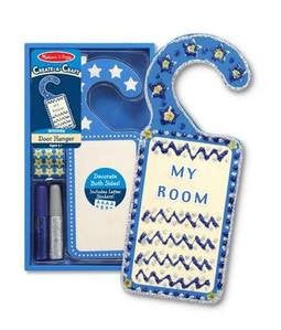 Decorate Your Own Door Hanger Blue