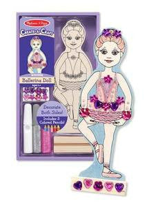 Create A Craft Decorate your Own Ballerina Doll