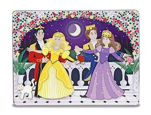 Dance All night Princess Magnetic Tin Set