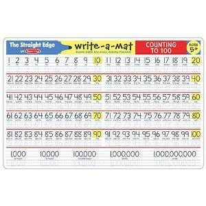 Melissa & Doug Write A Mat Counting to 100