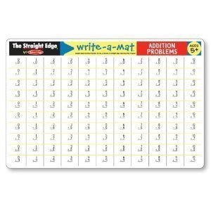 Addition Problems Write A Mat Single
