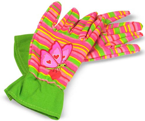 Melissa & Doug Bella Butterfly Gardening Gloves