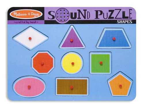 Melissa and Doug Shapes Sound Puzzle