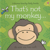 That's Not My Monkey Touchy Feely Board Book