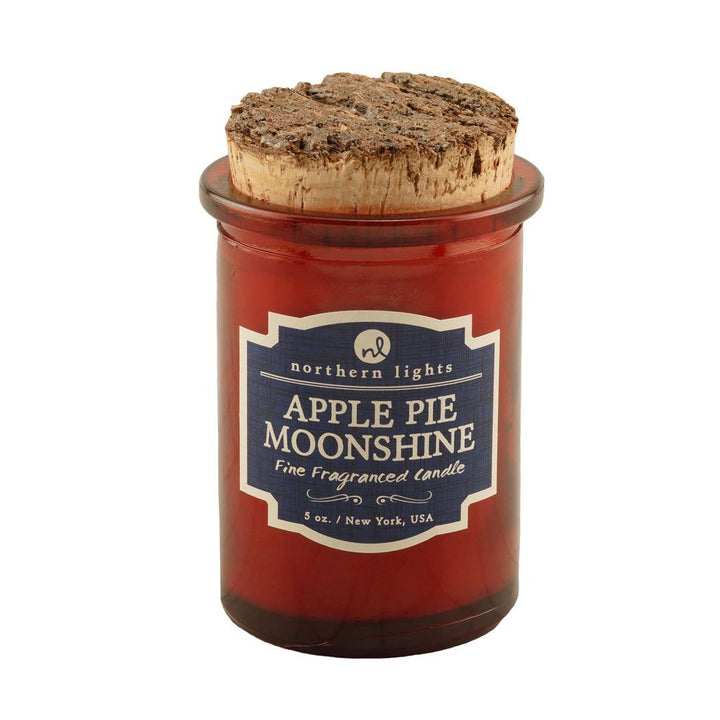 Northern Lights Candles: Spirits Jars-Apple Pie Moonshine