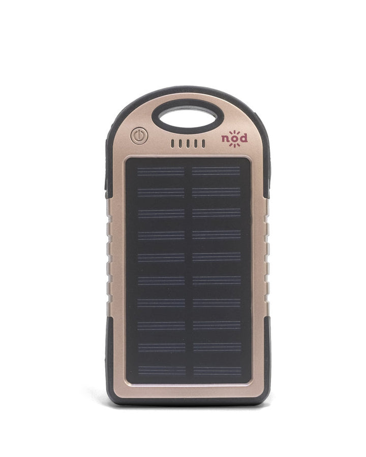 Beam Bank Portable Power Bank & Solar Charger-Rose Gold