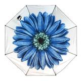 UV Protection Umbrella Watercolors Collection Blue Flower