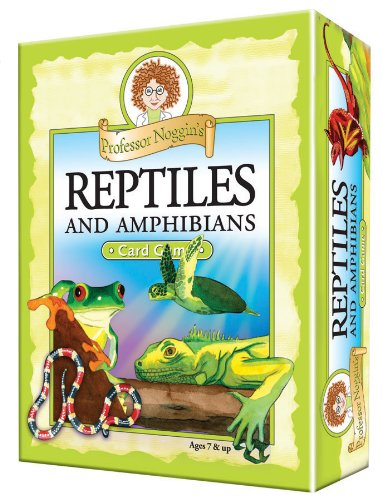 Professor Noggin's Reptiles and Amphibians Game