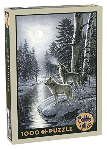 Wolves by the Moonlight 1000 pc Puzzle