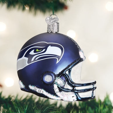 Seattle Seahawks Licensed Football Helmet Ornament