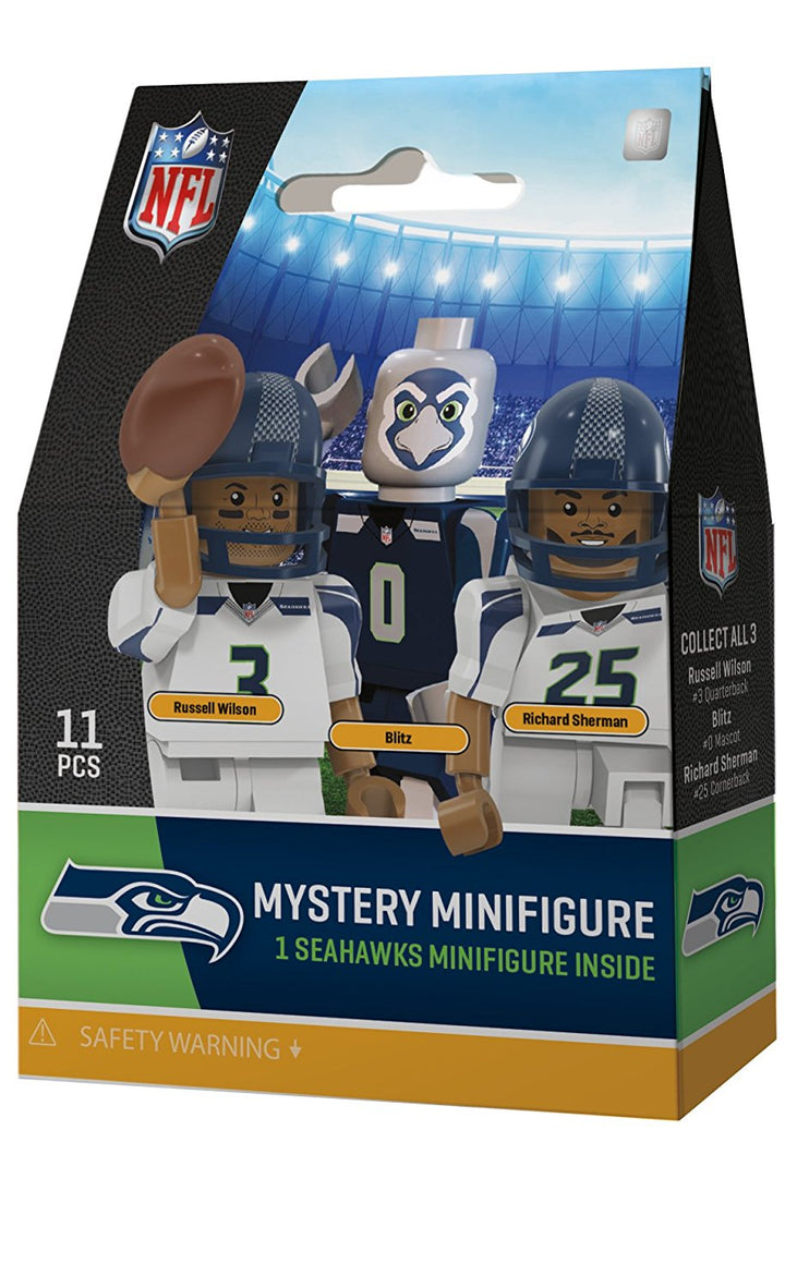 Seattle Seahawks Mystery Player Pack NFL OYO Generation 4 G4 Mini Figure